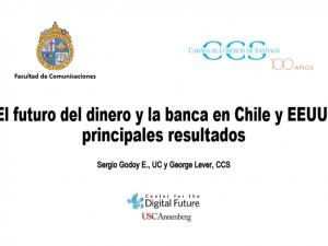 Informe sobre El futuro del dinero y los medios de pago en Chile y USA
