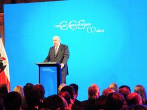 """Presidente de la CCS, Peter Hill: """"Nuestro país necesita urgente volver a la práctica de los grandes acuerdos, que fue un elemento clave para avanzar y crecer"""""""