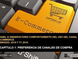 Preferencia canales de compra de consumidores