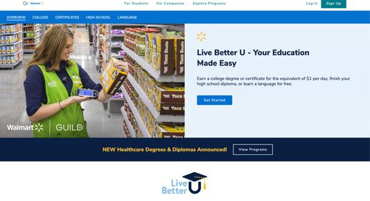 Walmart Academy: