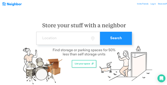 Airbnb del bodegaje: