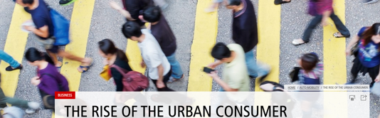 El auge del consumidor urbano