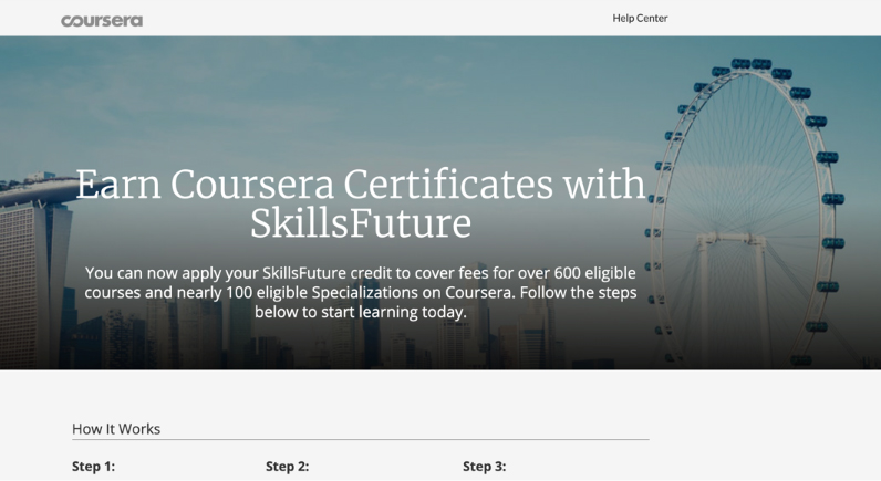 Coursera Futureskills Credit: